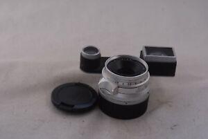 Leica M Lens Summaron 35mm f/2.8 w/Goggle M3 and lens hood