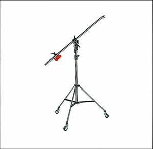 Manfrotto 085BS Heavy Duty Light Boom And Stand (On Wheels)