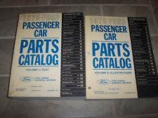 1975 Ford Mustang II Parts Catalog Manual Coupe Fastback Mach 1 Ghia 302 5.0L