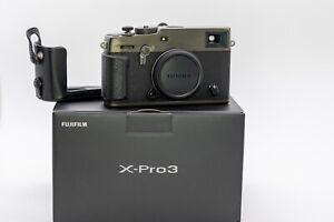 Fujifilm X-Pro3 Camera - Dura Black With Fujifilm Half Case