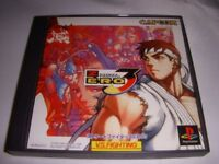 UsedGame PS1 PS PlayStation 1 Street Fighter ZERO3 from Japan