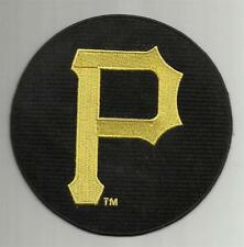 """PITTSBURGH PIRATES Round Patch 5"""" Embroidered NEW High Quality Iron-On NICE *R3"""