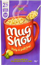 Mug Shot Noodle Snack Thai Style 5 x 55g - Will Ship Worldwide From UK