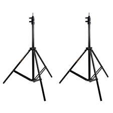 2X Studio Photo Flash Speedlight Umbrella Light Stand Holder Bracket Tripod Kit