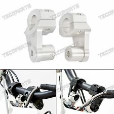 1-1/8'' Pivot CNC Handlebar Riser Clamp 4 Yamaha Vmax,KTM 690/990,Ducati,Triumph