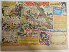 "Ralston Cereal Ad: Tom Mix ""Fountain Pen"" Premium 1938  Size: 11 x 15 inches"