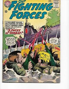 Our Fighting Forces  #86 (Gunner & Sarge  VG/FN  5.0) Aug-1964, DC