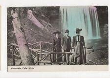 Minnehaha Falls Minnesota Vintage USA Postcard 510a