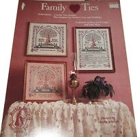 FAMILY TIES  CROSS STITCH  LEAFLET/BOOK