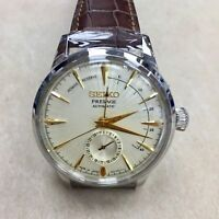 SEIKO Presage SSA387J1 Automatic Cocktail Power Reserve Japan Made Warranty !