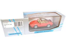 Porsche 911 (993) 1995 Targa in rot rouge rosso red, Minichamps in 1:43 boxed!