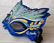 Peacock Feathers Mask  Cosplay Masquerade Halloween mask