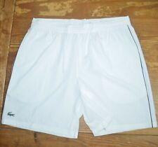 NWT LACOSTE SPORT Novak Djokovic Stretch Taffeta Ultra Dry Tennis Shorts 4XL 9