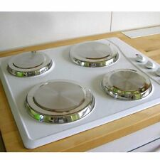 4pcs Set Round Stainless Steel Stove Top Covers Kitchen Cook to Burner Cover