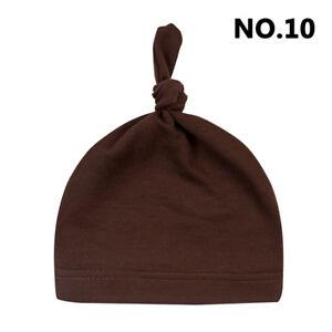 Baby's Toddler Infant Kids Boy Girl Cotton Knot Soft Newborn Beanie Hat/Cap