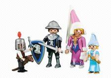 Playmobil 6324 Familia de Caballeros Castillo Doncella Medieval Castle History