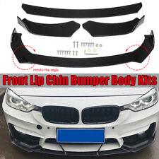 Universal Vorne Stoßstange Spoiler Frontlippe Splitter Frontschürze für BMW Benz