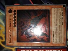 Carte Yu-gi-oh ultimate COMMANDO DE LA CLOCHE DE FEU ANPR-FR086