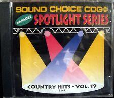 Sound Choice Karaoke CDG - SC8149  Vol 19 Country Hits  !! SALE !!