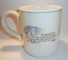Vintage J & G Meakin England English Collectible Princess Diana Coffee Cup Mug