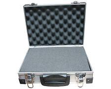 Aluminium Koffer mit Schaumstoff Werkzeugkoffer Allzweckkoffer Universalkoffer