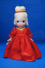 "Christmas Cinderella Precious Moments Disney 9"" Vinyl Doll 5131"