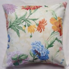 Vibrant Floral Sanderson Design Cushion Cover