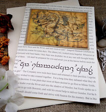 Gorgeous LOTR Birthday Card  - Personalised Brother Sister Dad Mum Friend