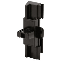 Prime-Line Products F 2649 Window Latch and Pull, Black, Adjustable with Night
