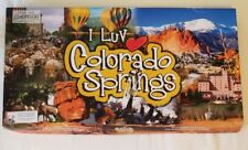 I Luv Colorado Springs Real Estate Trading Board Game