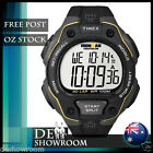 Timex Men's Ironman Triathlon 50 Lap Black Watch T5K494 FREE EXPRESS POSTAGE