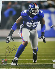 JASON PIERRE PAUL JPP NY GIANTS SIGNED 16x20 PHOTO AUTOGRAPH JSA CERTIFIED