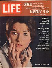 Life Magazine February 23 1962 Birthday Shirley MacLeaine VG 051816DBE2