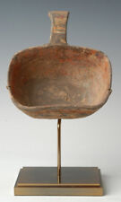Han Dynasty, Antique Chinese Pottery Ladle with Handle