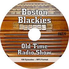 Boston Blackie (199 Episodes) OTR Old Time Radio Show - MP3 Audio on DVD