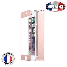Protection Verre Trempé Face Avant + Arrière Titane Rose pour Apple iPhone 7