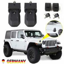 DE Motorhaubenschloss Haubenverschlüsse Verschluss Schlüssel Für Jeep Wrangler
