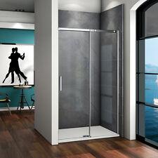 Duschkabine Duschabtrennung Duschwand Dusche Schiebetür Nischentür 120x195cm SL