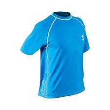 ScubaPro Men's Short Sleeve Loose fit Rash Guard--2XL Blue