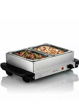 Ovente Electric Stainless Steel Buffet Server