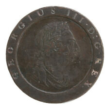 Raw 1797 Great Britain 2 Pence Copper Coin