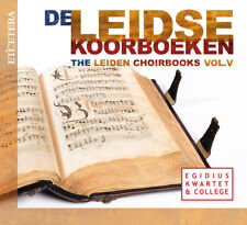 Leiden Choirbooks Vol 5 2 CDs ETCETERA Egidus Kwartwet & College SEALED