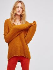 FREE PEOPLE All Mine NWOT Oversized ALPACA Blend Pullover Sweater M RRP $194