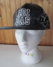 ADIDAS Faux snake skin Cap - Excellent condition - Snap Back - Please read