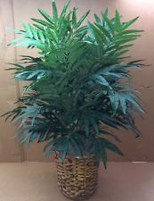 3' PHOENIX PALM PLANT ARTIFICIAL SILK TREE BUSH BASKET POT ARECA TRIPLE BAMBOO