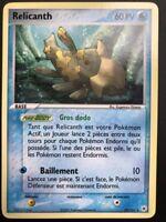 Carte Pokemon RELICANTH 24/101 Rare Légendes Oubliées Bloc EX FR NEUF