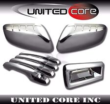 11-15 Ford Explorer Chrome Mirror Cover Chrome Door Handle Cover Chrome Tailgate