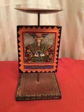 Teach Peace Colorful Pillar Candle / Plant Holder (McCarthy)