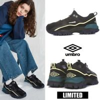 UMBRO BUMPY Athletic Sneaker Dad Shoes Black Sz 220-290mm Limited