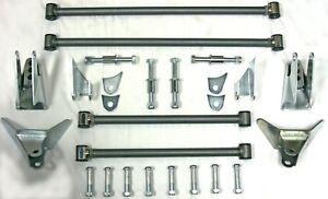 Heavy Duty Ford Chevy Plymouth Street Rod Triangular Rear Four Bar 4 Link Kit